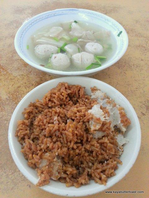 The Famous Yam Rice & Salted Vegetable Soup with Pork Organs @ Kafe Sentosa Corner, Bukit Mertajam (4)