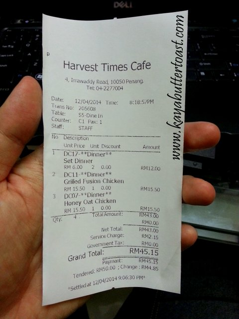 Harvest Times Cafe @ Irrawaddy Road, Georgetown, Penang (21)