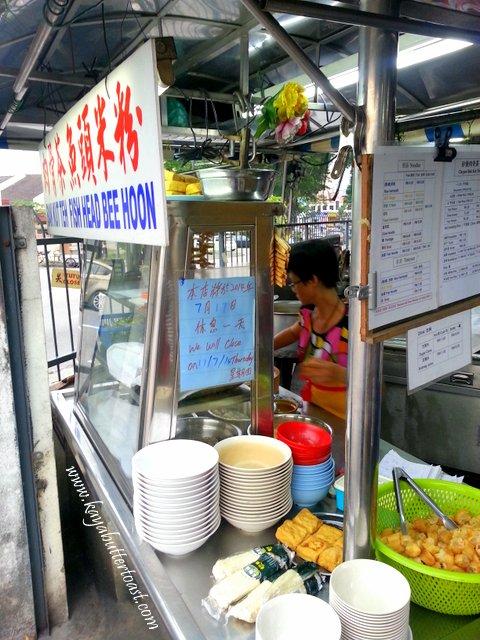 Famous Sungai Dua Fish Meat Bee Hoon, Tom Yam & Bah Kut Teh Stall @ Sungai Dua, Penang (3)